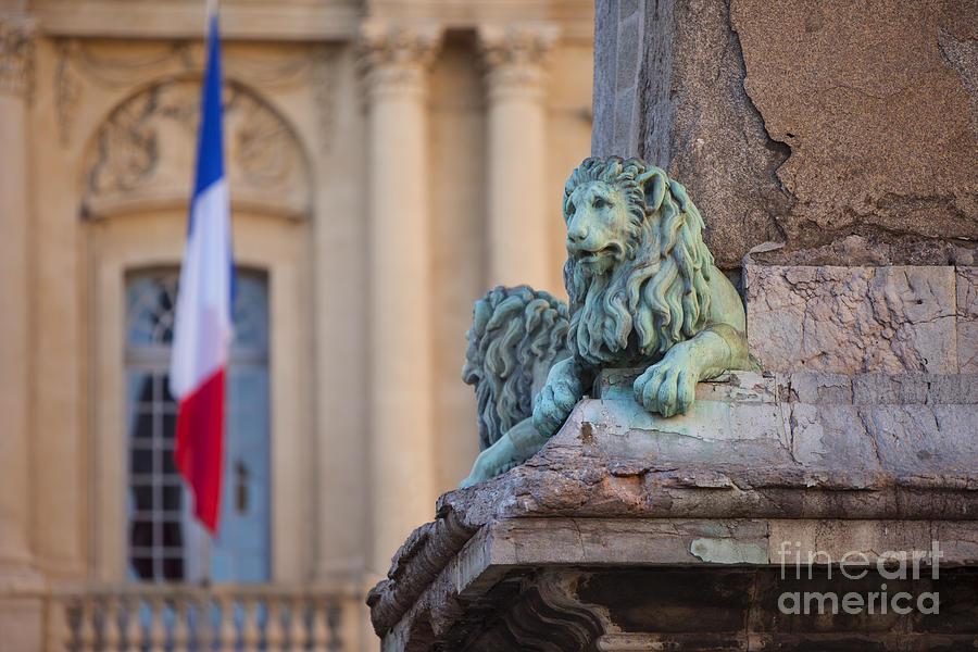 Arles Photograph - Arles Place De La Republique by Brian Jannsen