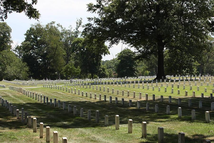 Arlington Photograph - Arlington National Cemetery - 121221 by DC Photographer