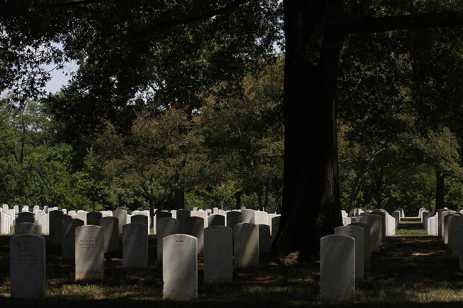 Arlington Photograph - Arlington National Cemetery - 121243 by DC Photographer