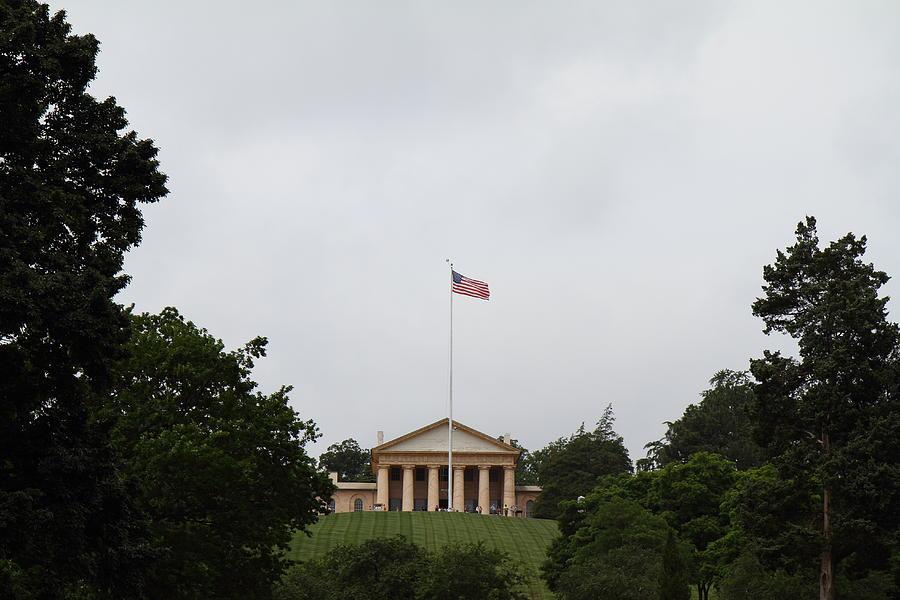 Arlington Photograph - Arlington National Cemetery - Arlington House - 01131 by DC Photographer
