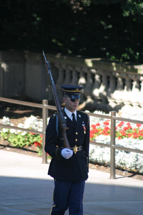 Arlington Photograph - Arlington National Cemetery - Tomb Of The Unknown Soldier - 121215 by DC Photographer