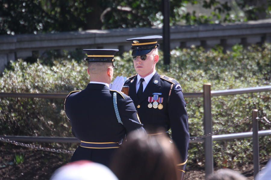 Arlington Photograph - Arlington National Cemetery - Tomb Of The Unknown Soldier - 121221 by DC Photographer