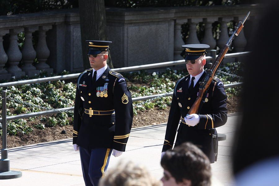 Arlington Photograph - Arlington National Cemetery - Tomb Of The Unknown Soldier - 121222 by DC Photographer