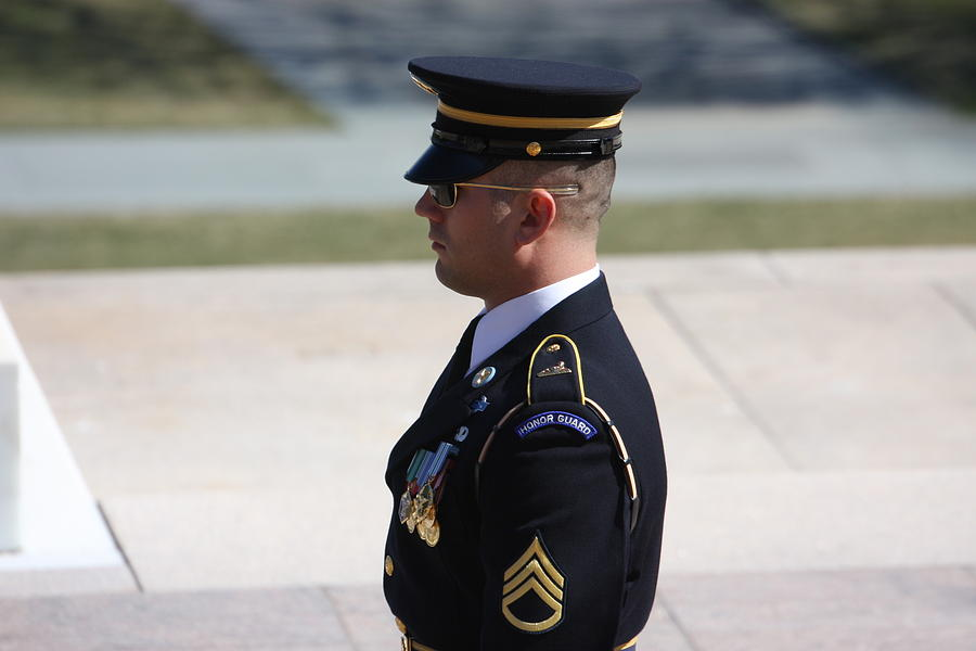 Arlington Photograph - Arlington National Cemetery - Tomb Of The Unknown Soldier - 121224 by DC Photographer