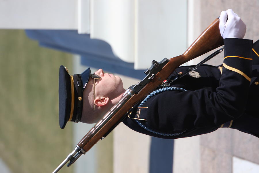 Arlington Photograph - Arlington National Cemetery - Tomb Of The Unknown Soldier - 121228 by DC Photographer
