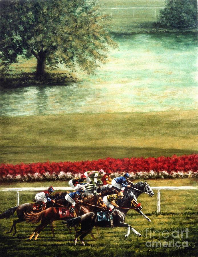 Arlington Park Painting - Arlington Park by Thomas Allen Pauly