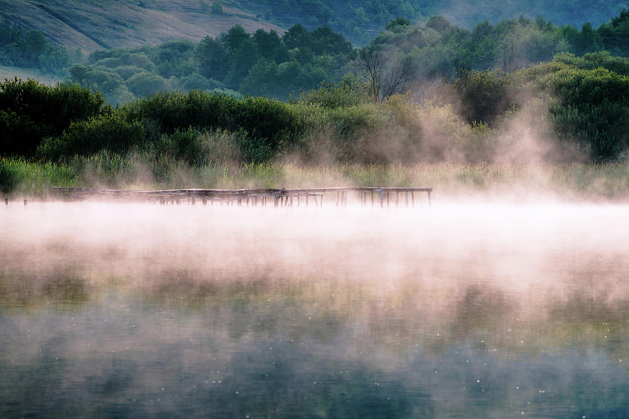 Arlo Lake In Morning Photograph by Yorkfoto