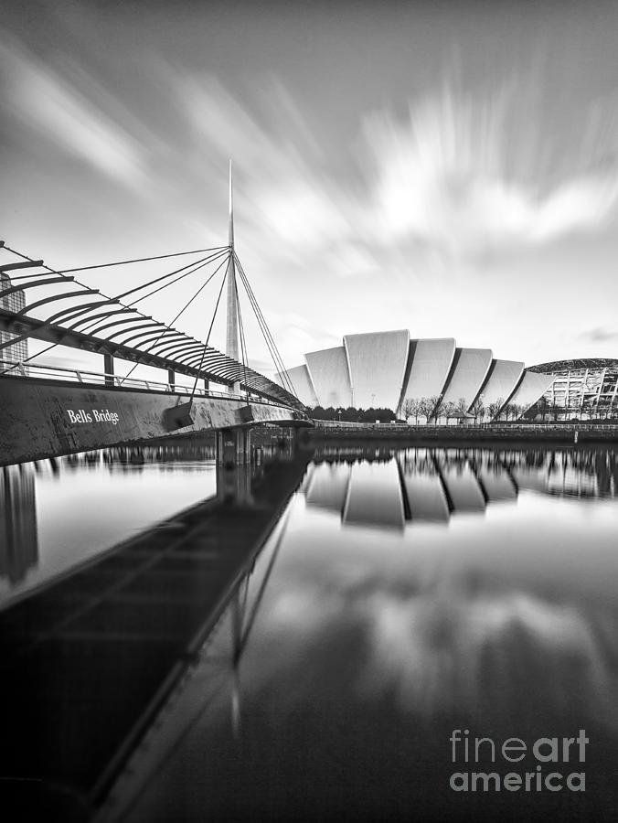 Secc Photograph - Armadillo And Bells Bridge by John Farnan