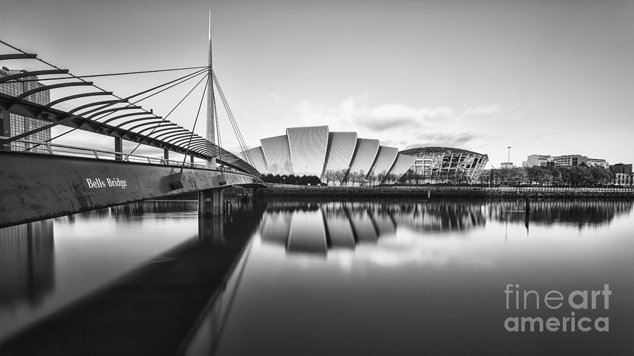 Secc Photograph - Armadillo Glasgow Scotland by John Farnan