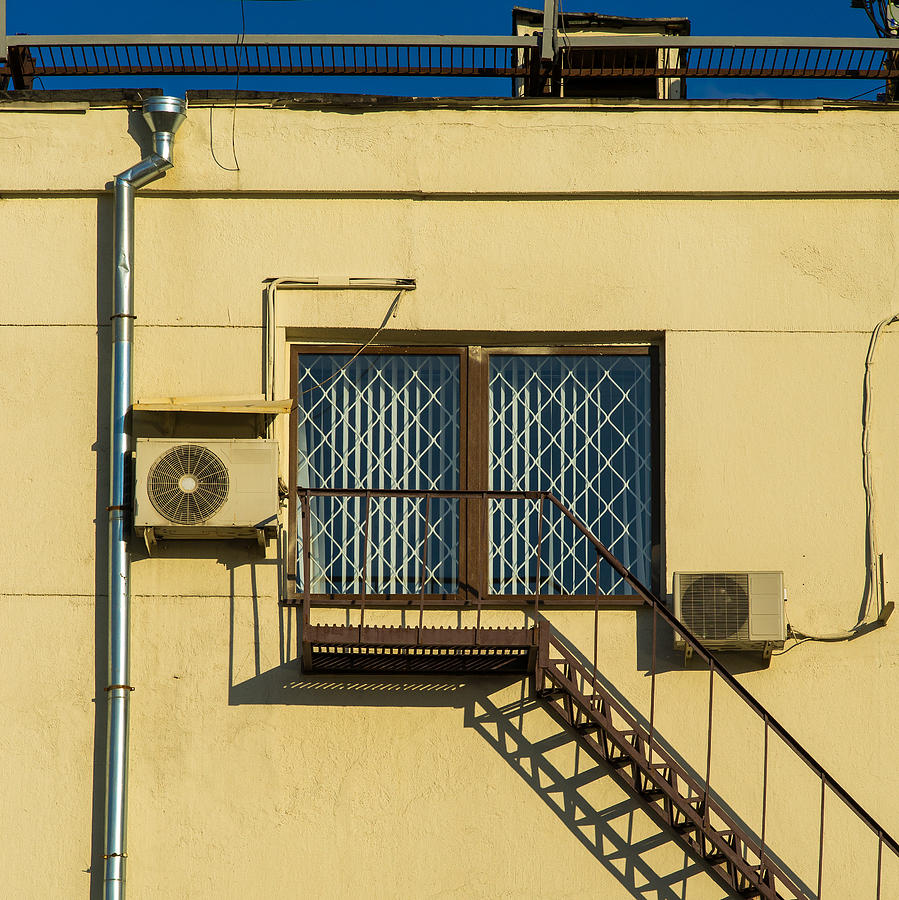 Abstract Photograph - Armed To The Roof by Alexander Senin