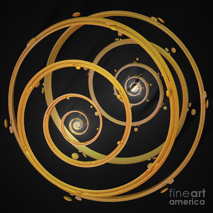 First Star Art Digital Art - Armillary By Jammer by First Star Art