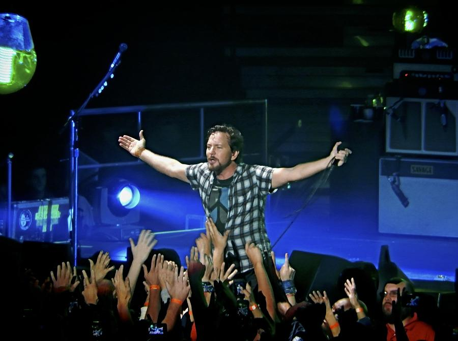 Pearl Jam Photograph - Arms Wide Open by David Powell