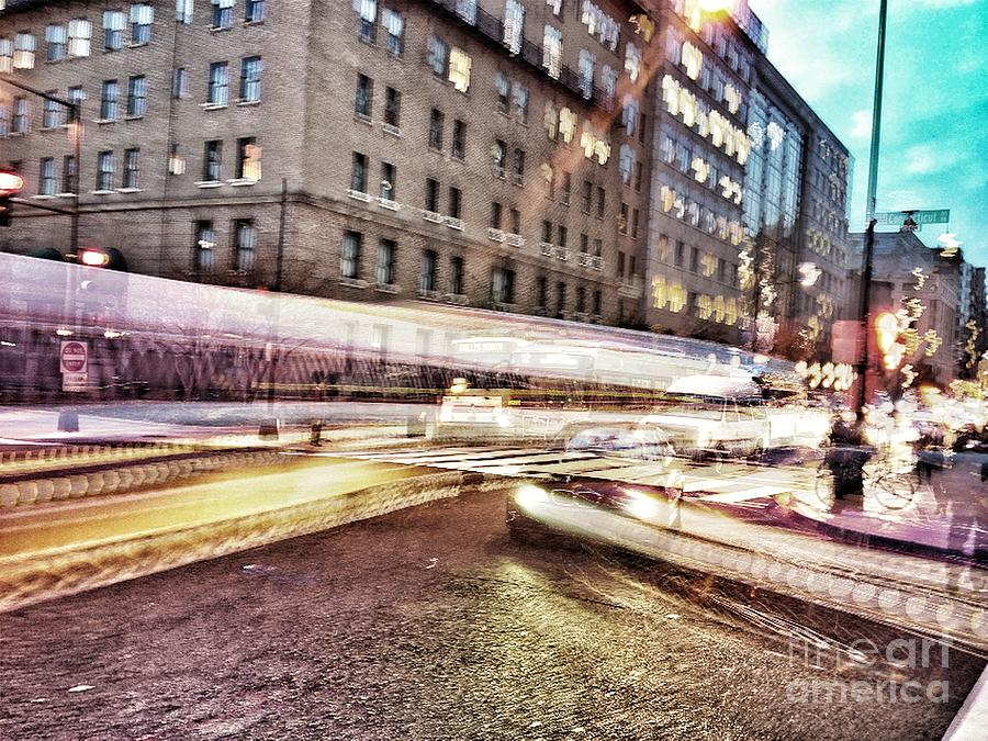 Washington Dc Photograph - Army And Navy Rush Hour by Jim Moore