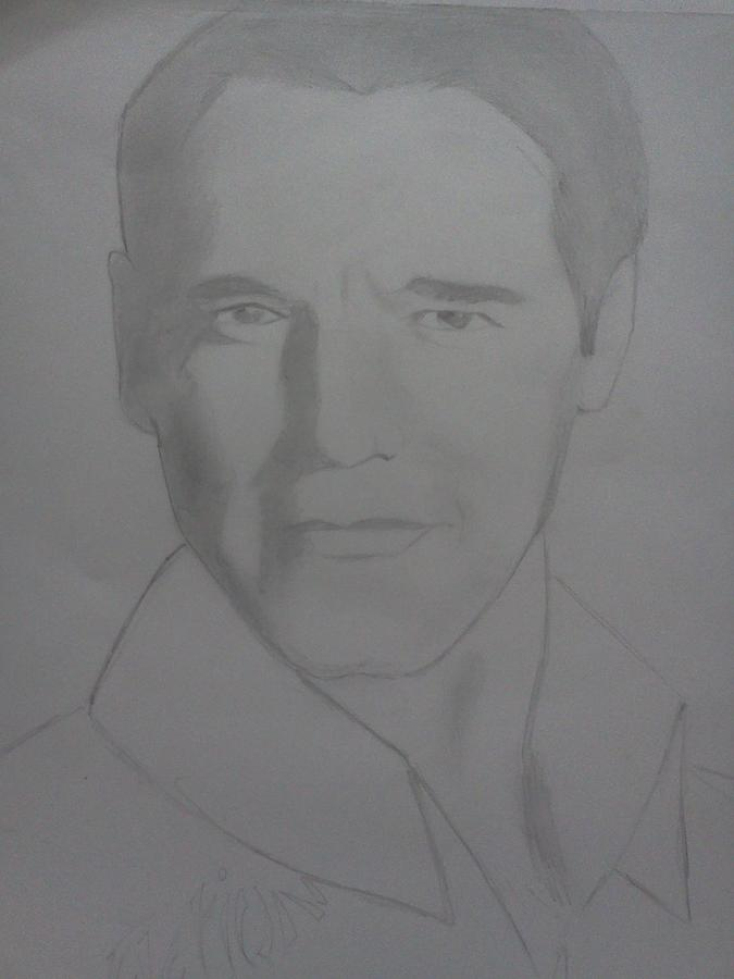 Arnald Drawing by Uzair Talha