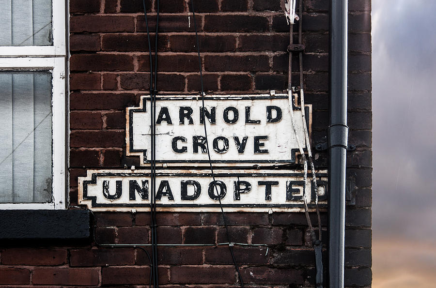 George Harrison Photograph - Arnold Grove Unadopted In Liverpool by Semmick Photo