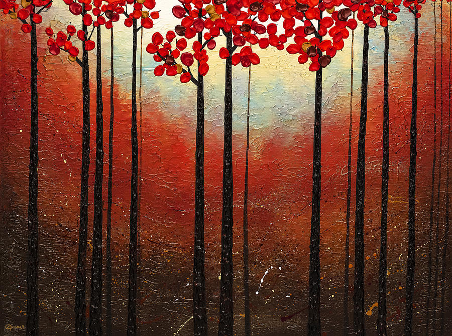 Abstract Painting Painting - Aroma Do Campo by Carmen Guedez