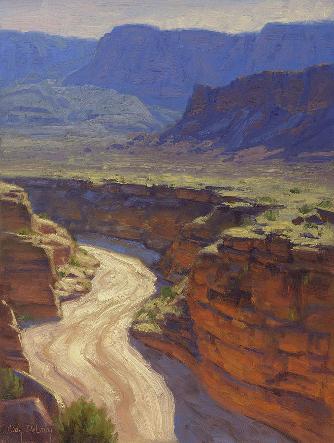 Grand Canyon Painting - Around The Bend by Cody DeLong
