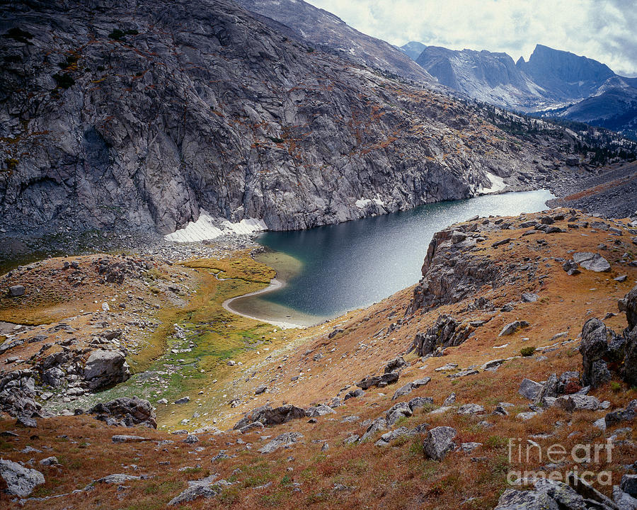 Continental Divide Photograph - Arrowhead Lake  by Tracy Knauer