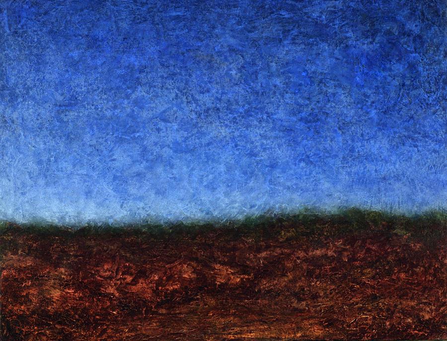Arroyo Painting - Arroyo Rojo by James W Johnson