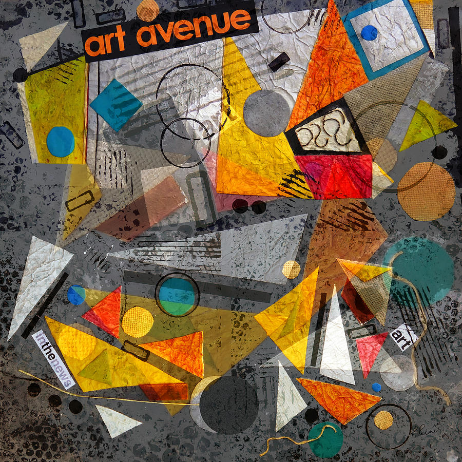 Art Avenue Collage Digital Art By Ruth Palmer