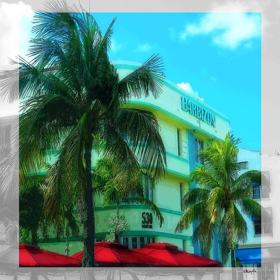 Art Deco Barbizon Hotel Miami Beach Photograph by Rebecca ...