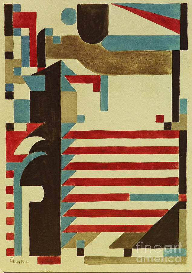 Abstract Art Deco Paintings