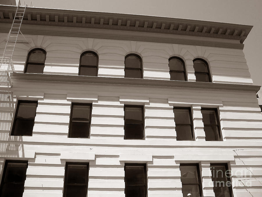 Art Deco Photograph - Out Of Line - Art Deco In San Francisco by Connie Fox