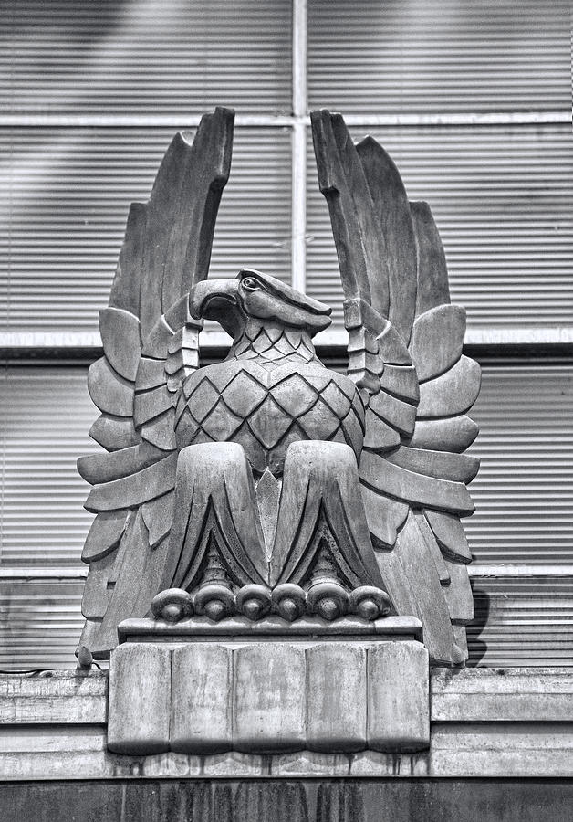Art Deco Eagle Photograph By Linda Phelps