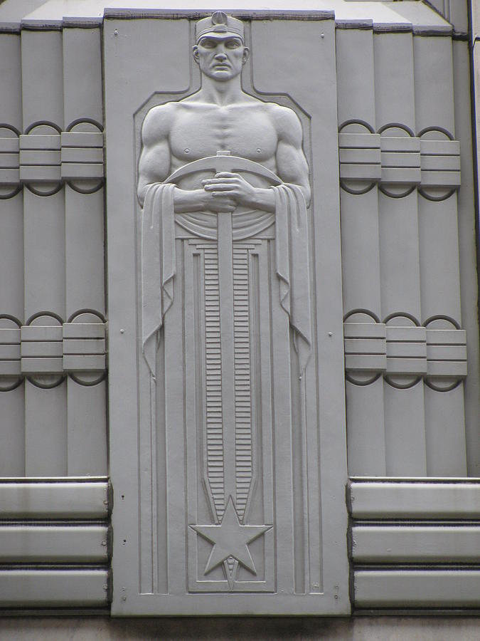 Art Deco Figure Photograph By Alfred Ng