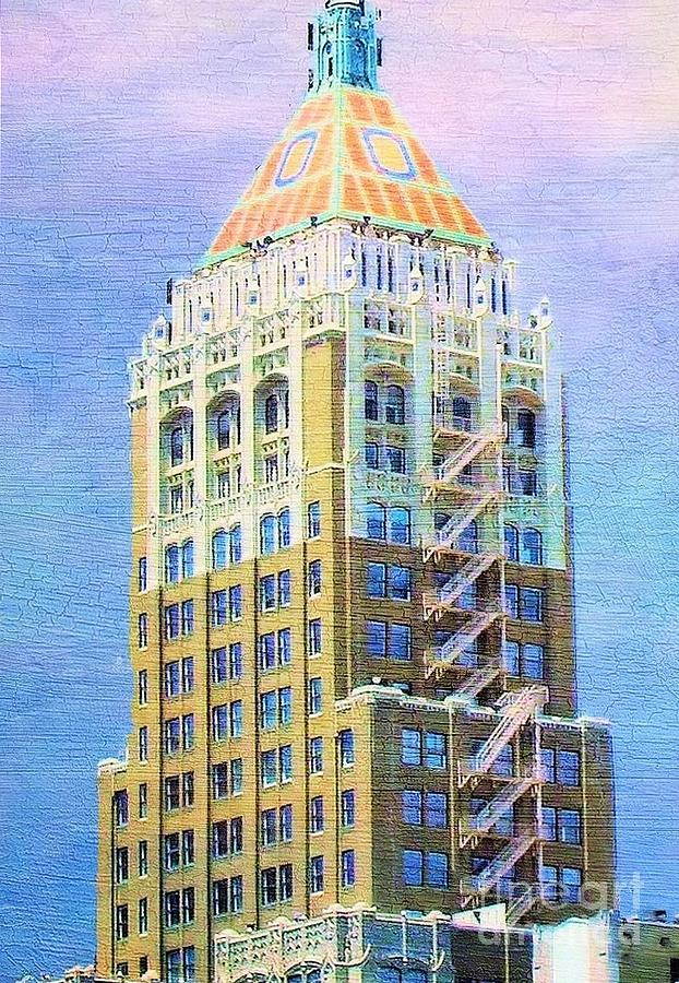 Tulsa Photograph - Art Deco Lives At Philtower by Janette Boyd