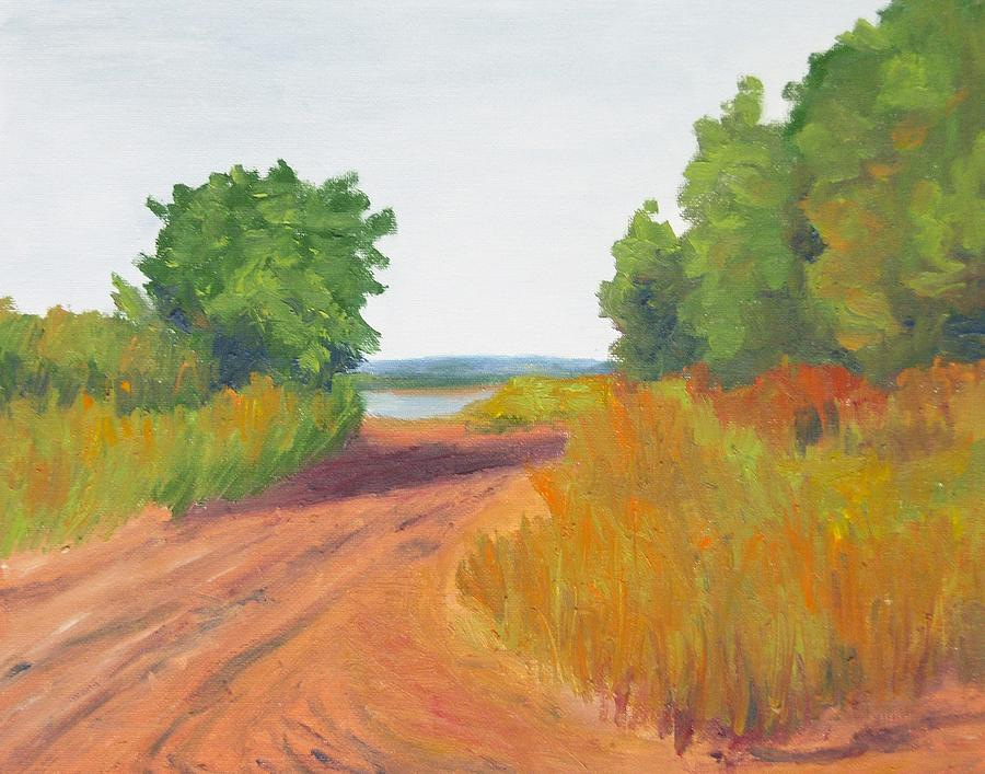 Landscape prints of art for sale oil painting day at the for Fine art paintings for sale online