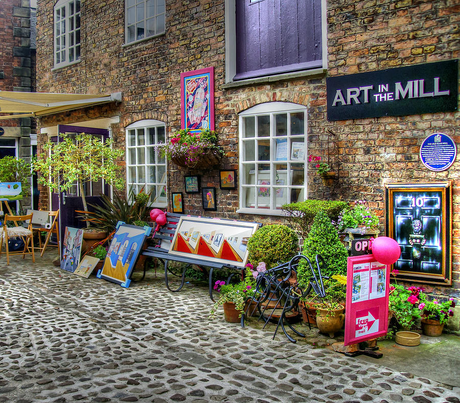 Cheshire Photograph - Art In The Mill by Doc Braham