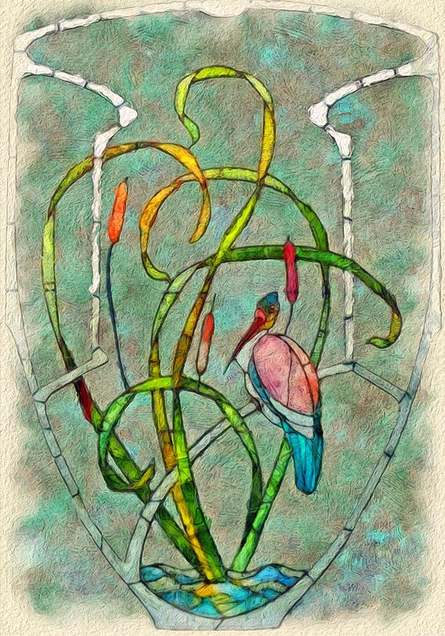 Nouveau Painting - Art Nouveau by Jack Zulli