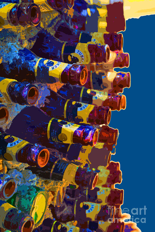 Bottle Photograph - Art Of Bottles by Jost Houk
