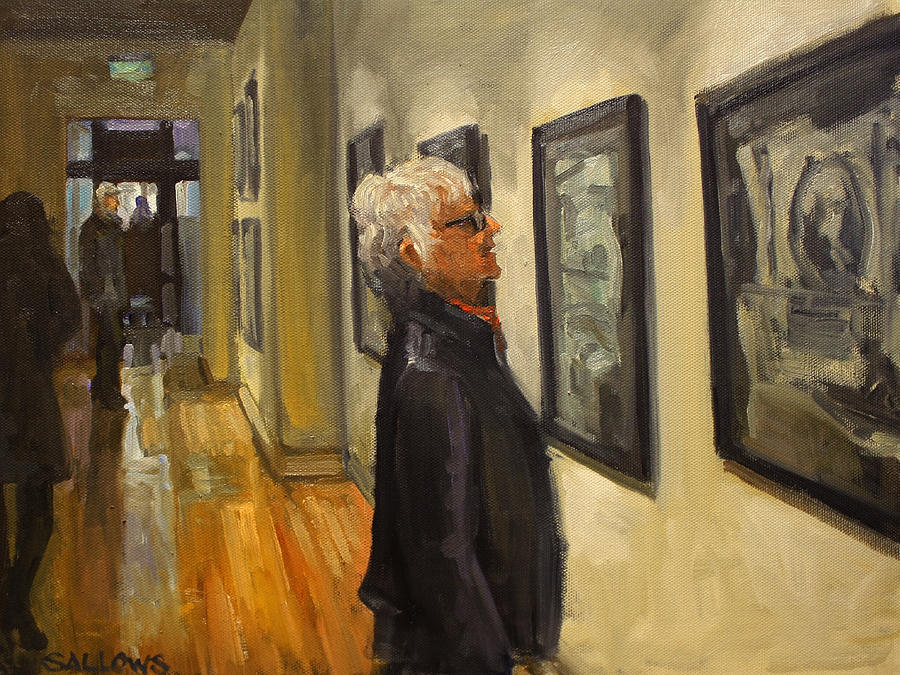 Gallery Painting - Art Prize by Nora Sallows