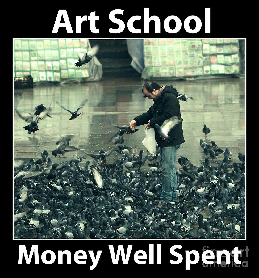 Art School Photograph - Art School by John Rizzuto