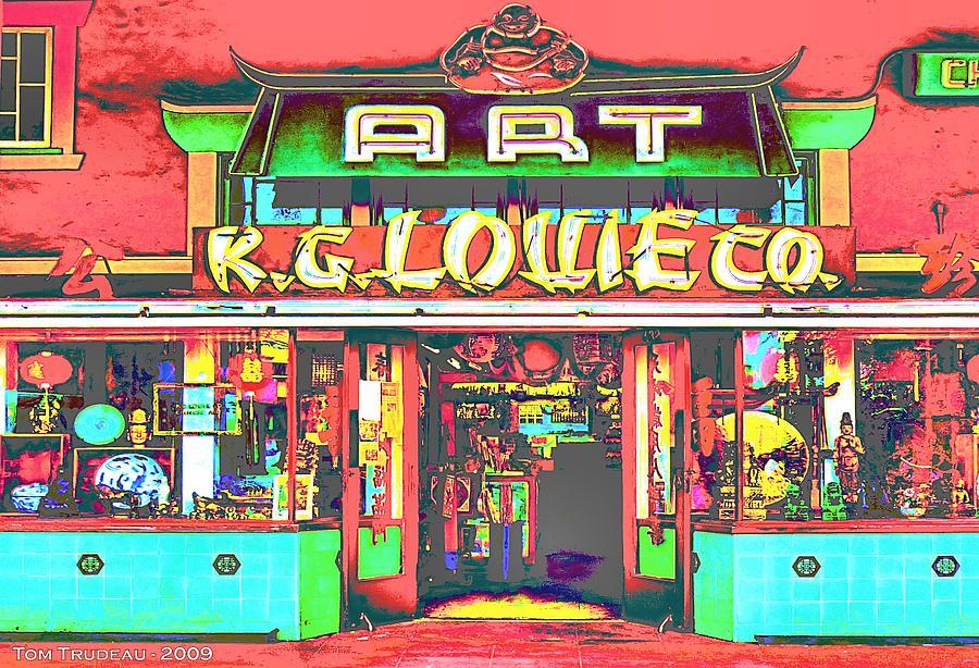 Art Store Chinatown Mixed Media