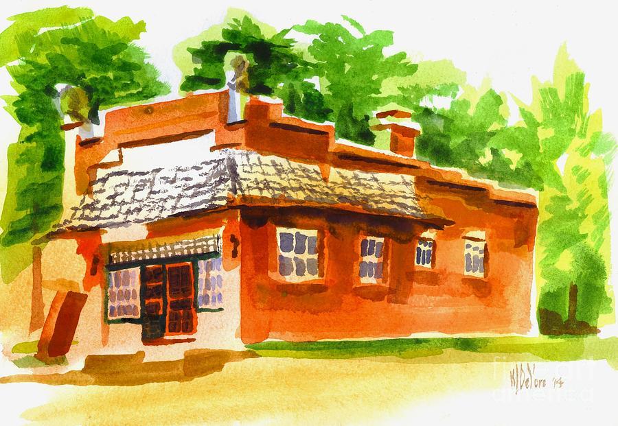 Art Studio Painting - Art Studio by Kip DeVore