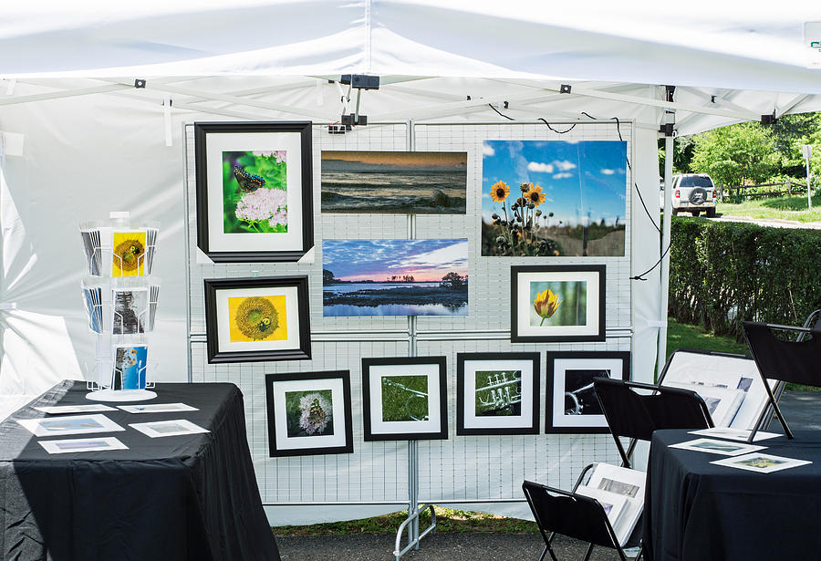 Art Tent Photograph by Photographic Arts And Design Studio