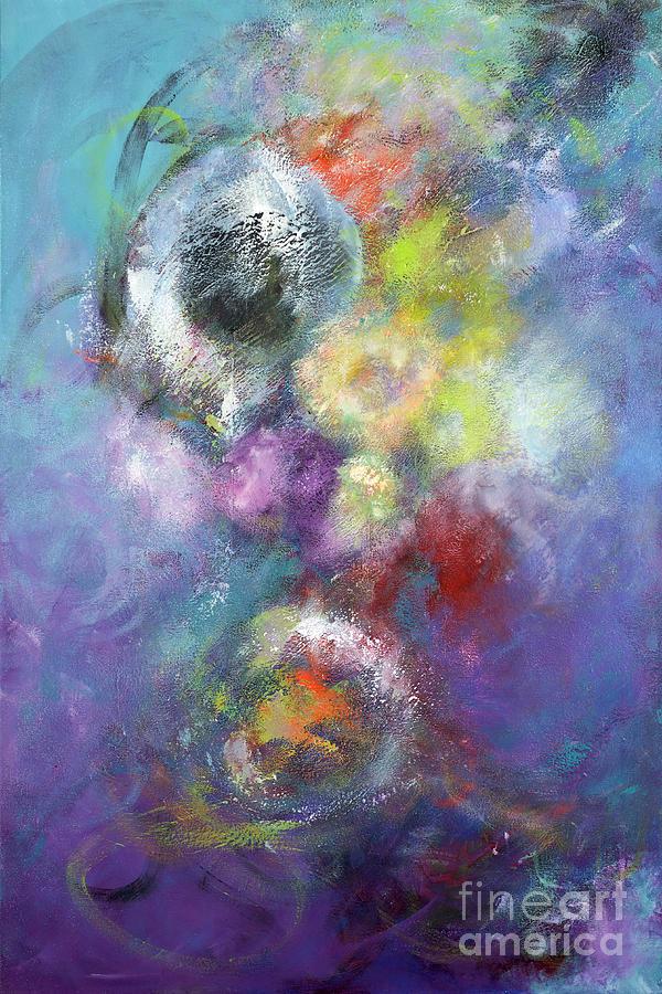 Acrylic Painting - Arta Nebula by Jason Stephen