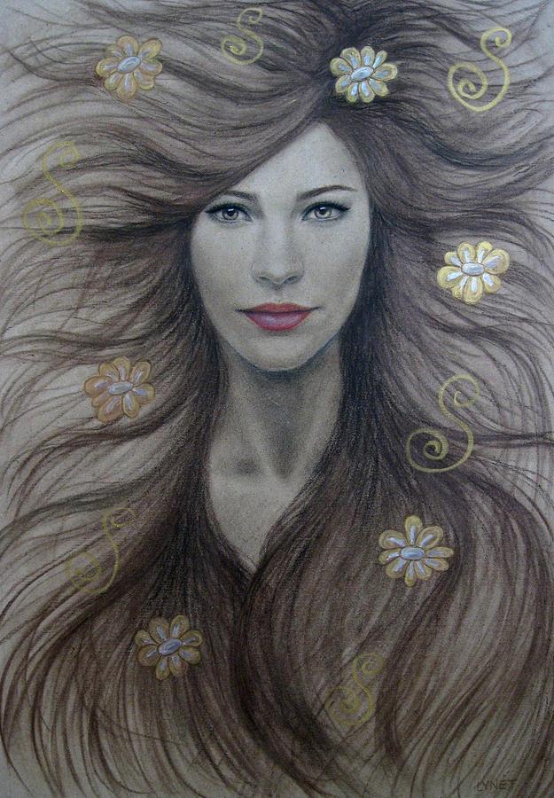 Artemis Painting - Artemis by Lynet McDonald