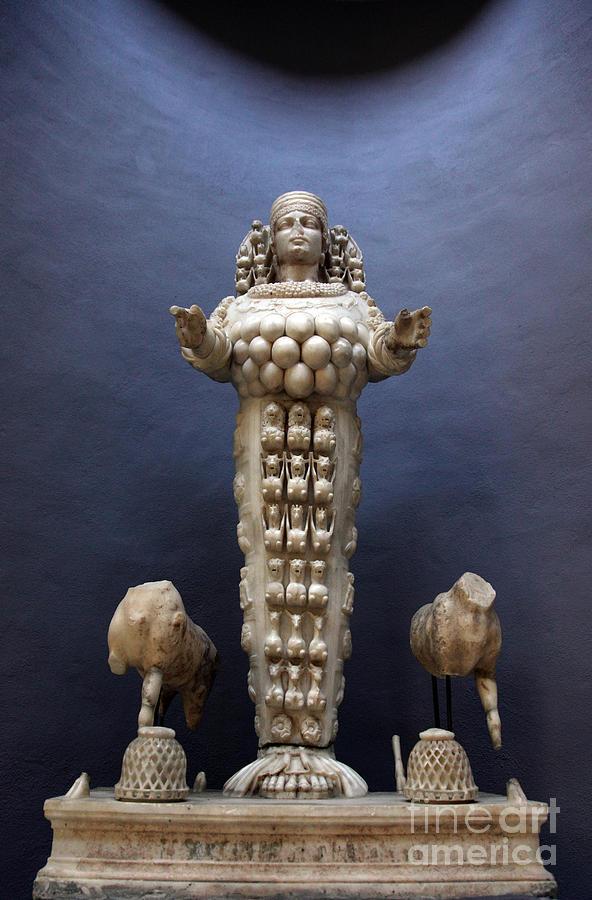 Artemis Statue Ephesus Turkey Photograph By Ros Drinkwater