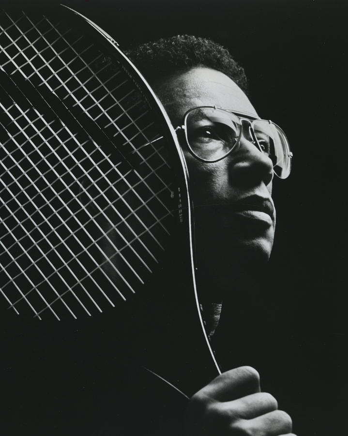 Classic Photograph - Arthur Ashe by Retro Images Archive