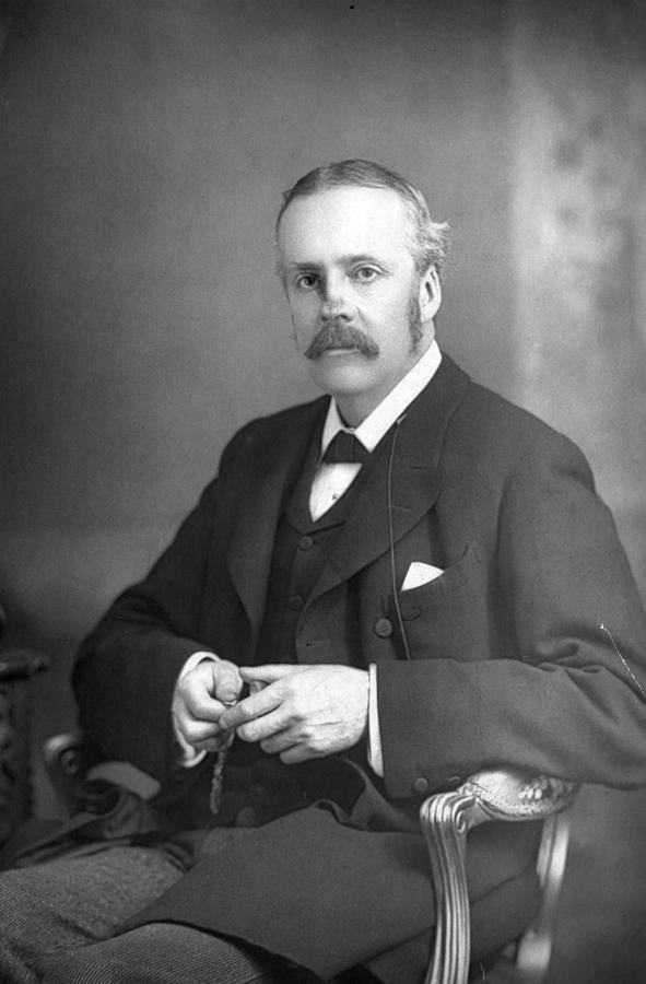 1894 Photograph - Arthur James Balfour (1848-1930) by Granger