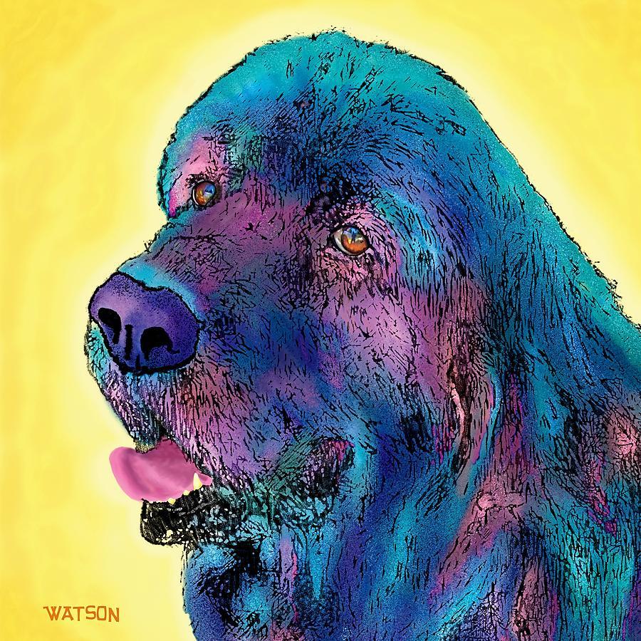 Mouth Digital Art - Arthur  by Marlene Watson