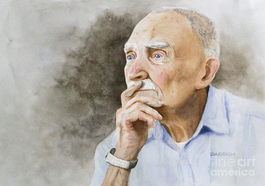Portrait Painting - Arthur by Parrish Hirasaki