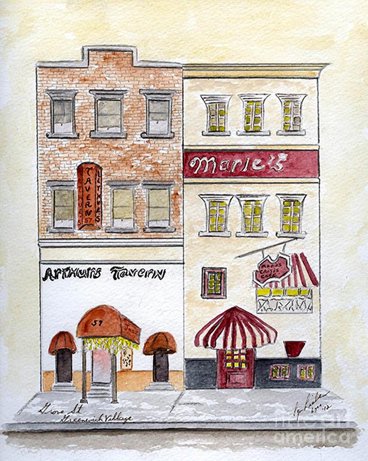 Arthur's Tavern - Greenwich Village by AFineLyne