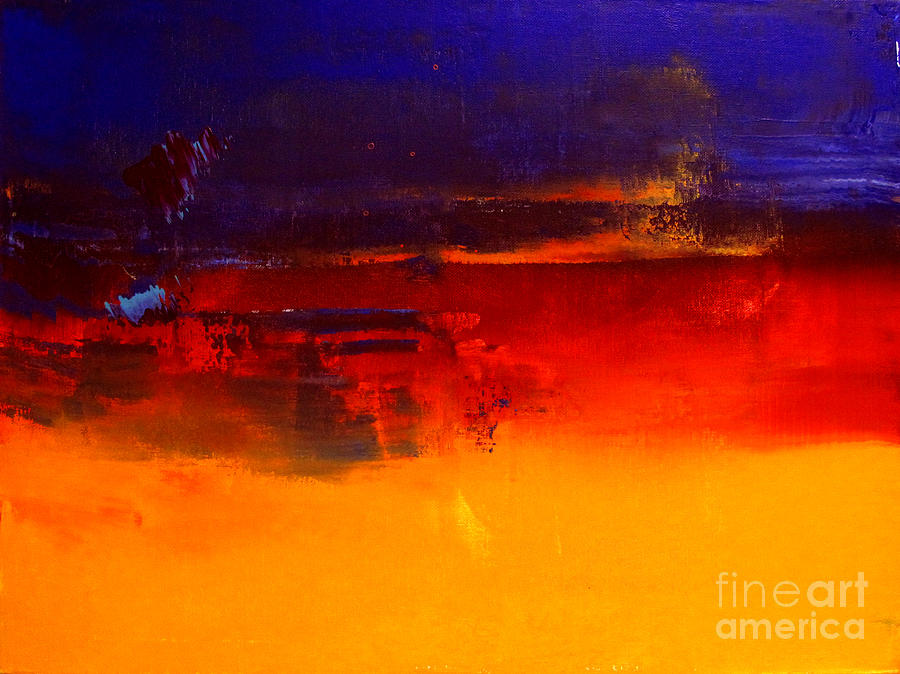 Abstraction Painting - Artifact 23 by Charlie Spear