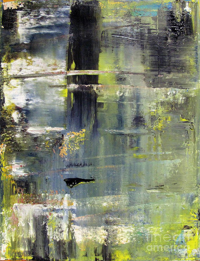 Abstraction Painting - Artifact 24 by Charlie Spear