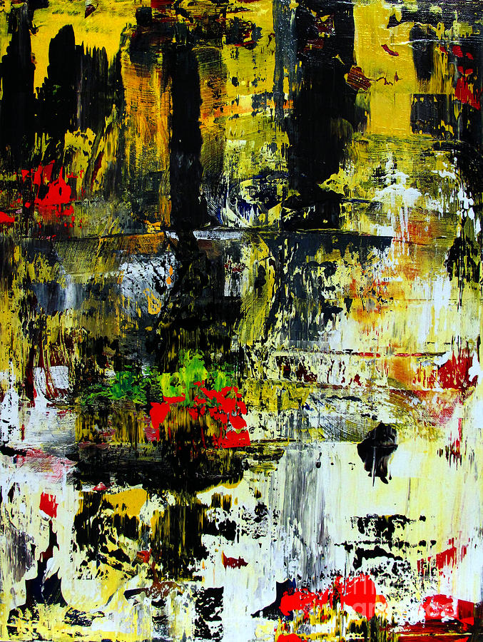 Artifact Painting - Artifact 26 by Charlie Spear